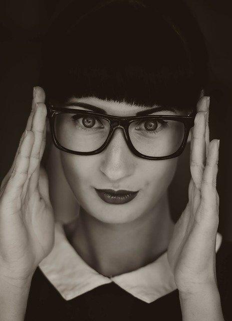 大きめの眼鏡